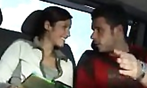 This babe goes really brutal when a boy suggests a morose fuck concerning a motor coach