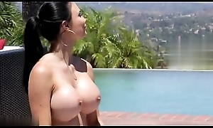 Stepmom with large boobs bangs son