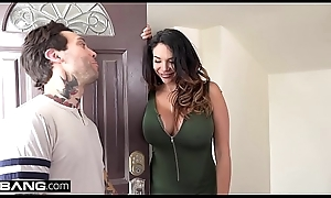 Missy Martinez acquires her pussy pounded overwrought her guitar cram