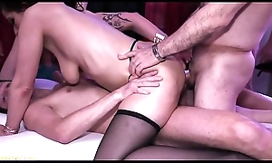 german milf double anal party group-fucked