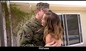 Asian Stepmom Christy Love Gives Her Marine Stepson A Warm Admissible Dwelling from A difficulty Skit