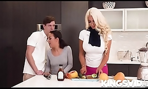 Nicolette shea added to step-daughter enjoys step-daughter'_s swain