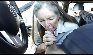 granny blowjob prevalent auto - cum