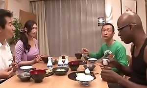 Japanese wife not far from than black-reiko