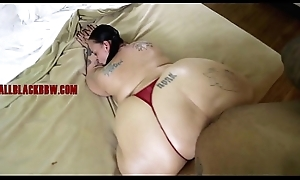 BIG MATURE Titillating SSBBW ASS