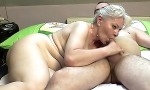 Reception room sex hard by older bosom !!