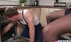 French milf seduces make an issue of plumber(anissa kate) 01 video-07