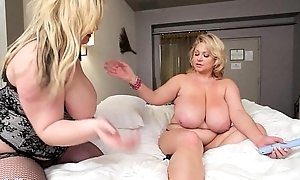 Sexy bbw doxy milf acquires wet crack plunged by juvenile plumper