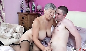 AgedLovE Mature Laddie Savanna Fucks Sultry Lover