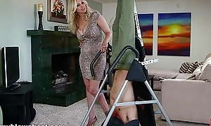 Mommybb breasty milf julia ann is sucking my bound not far from boyfriend!