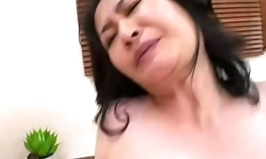 Oriental milfs in trio riding dong increased by tokus sob win en...
