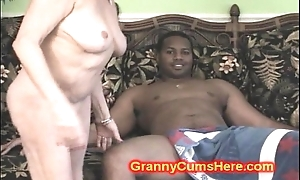 Slut granny's thersitical residence hang on