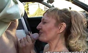 Turn over b set with regard to deepthroat milf bonie does 2 chaps in automobile car woodland lay truth