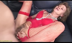 absurd 85 years grey granny foremost anal sexual connection