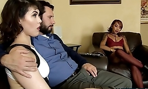 Mom tells stepdad to fuck the brush daughter