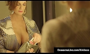Cougar Deauxma Drilled Nearby Her Adult Muff By A Obese Gloomy Load of shit