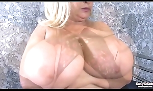 Samantha Sanders Huge Boobs Enjoyment With the addition of Muddy Muff Mistreat