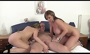 German matured threesome with big tits and sweet vaginas