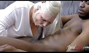 AgedLovE Lacey Starr Interracial Hardcore Mileage