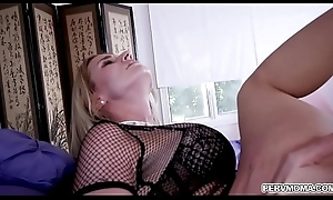 Crazy milf call-girl Rachel Cavalli riding go off at a tangent youthful cock!