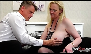 AgedLovE Suzie is Drilled by Convenient Businessman Marc