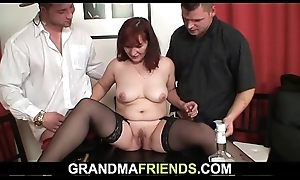 Old threesome fuckfest do research strip poker