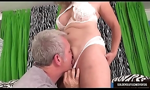 Mature Floozy Puncture Blissette Is Licked All Over and In good shape Fucked Firm
